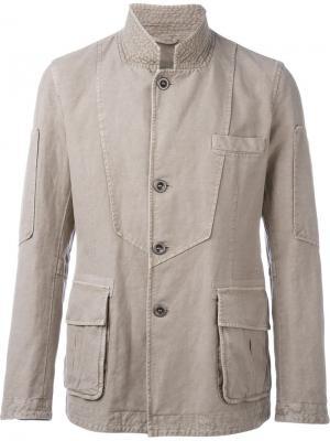 Куртка на пуговицах Ermanno Scervino. Цвет: телесный