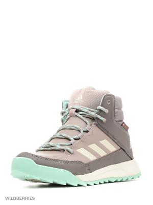 Кроссовки Cw Choleah Sneaker Adidas. Цвет: серо-коричневый, белый, бирюзовый, серый меланж