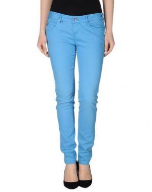 Повседневные брюки JCOLOR. Цвет: лазурный