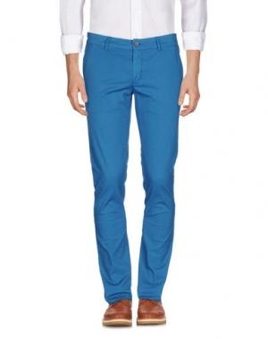 Повседневные брюки MAISON CLOCHARD. Цвет: бирюзовый
