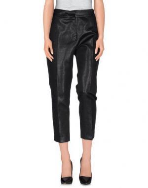 Повседневные брюки MUNTHE. Цвет: черный