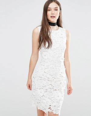 Darling Облегающее платье Ailsa. Цвет: кремовый