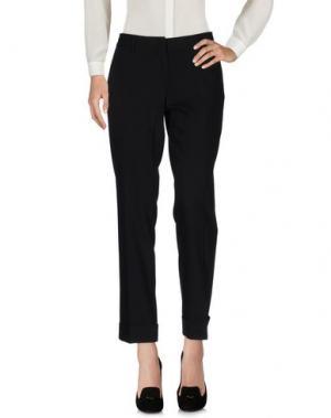 Повседневные брюки ENTRE AMIS. Цвет: черный