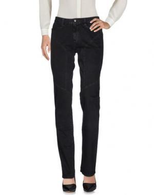 Повседневные брюки 9.2 BY CARLO CHIONNA. Цвет: черный