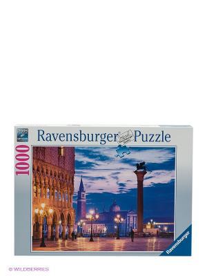 Пазл Площадь Сан-Марко Ravensburger. Цвет: синий, коричневый, сиреневый