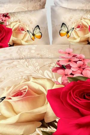 Постельное белье 2 сп., 70x70 Французский стиль. Цвет: мультицвет