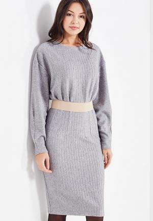 Платье Maria Golubeva. Цвет: серый