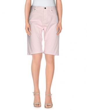Бермуды JFOUR. Цвет: светло-розовый