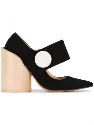 Туфли-лодочки Les Chaussures Gros Bouton Jacquemus. Цвет: чёрный