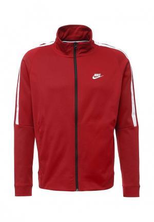 Олимпийка Nike. Цвет: красный