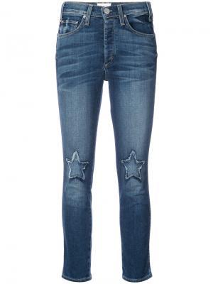 Star cropped jeans Mcguire Denim. Цвет: синий