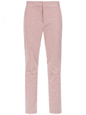 Striped straight trousers Egrey. Цвет: none