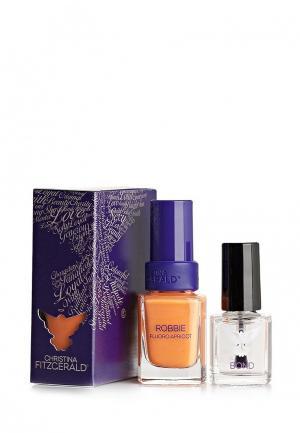 Лак для ногтей Christina Fitzgerald. Цвет: оранжевый