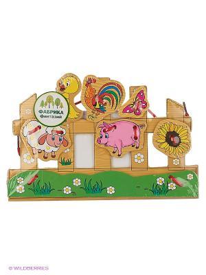 Деревянная игрушка шнуровка Фабрика Фантазий. Цвет: зеленый