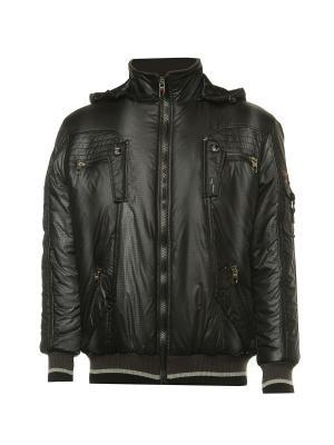 Куртка Diamond. Цвет: черный, серый