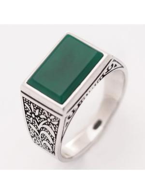 Печатка BALEX. Цвет: зеленый, серебристый