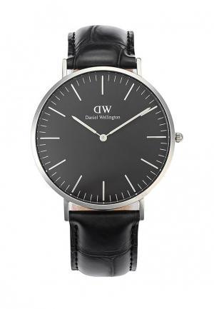 Часы Daniel Wellington. Цвет: черный