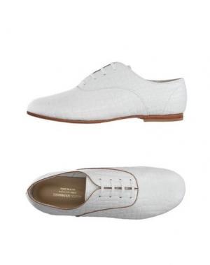 Обувь на шнурках JUNYA WATANABE COMME DES GARÇONS. Цвет: белый