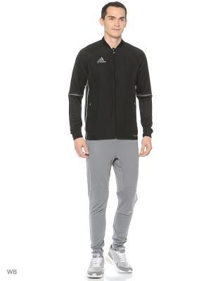 Трикотажные брюки муж. TANF TR PNT  GREY Adidas. Цвет: серый