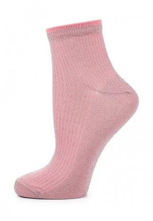 Носки Topshop. Цвет: розовый