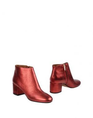 Полусапоги и высокие ботинки BIANCA DI. Цвет: красный