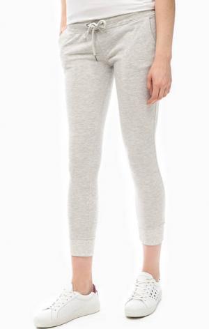 Серые брюки с двумя карманами ALCOTT. Цвет: серый