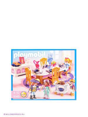 Королевский обеденный зал Playmobil. Цвет: голубой, розовый