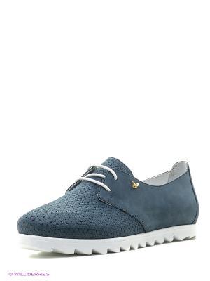 Ботинки Benta. Цвет: серый
