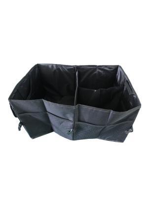 Складной органайзер для багажника авто Blonder Home. Цвет: черный