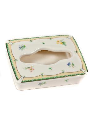 Салфетница кухонная Royal Porcelain. Цвет: молочный