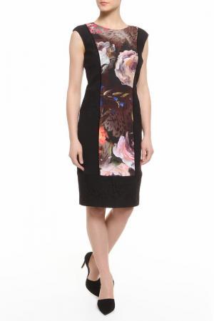 Платье CLASS ROBERTO CAVALLI. Цвет: цветы