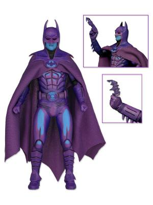 Фигурка Batman 7 1989 Video Game Appearance Neca. Цвет: лазурный, фиолетовый