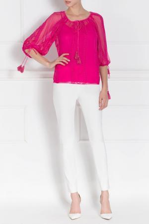 Блуза Nissa. Цвет: fuchsia