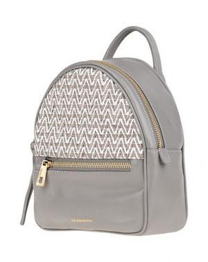 Рюкзаки и сумки на пояс VIA REPUBBLICA. Цвет: серый