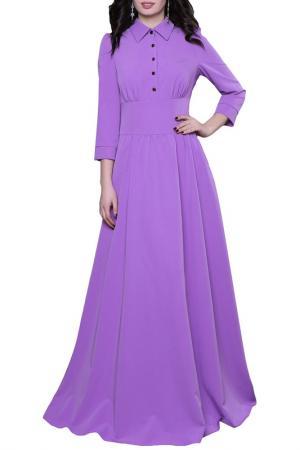 Платье Olivegrey. Цвет: сиреневый