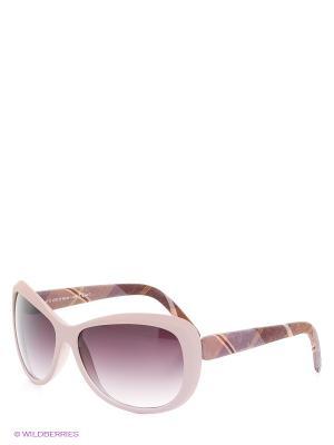 Солнцезащитные очки TOUCH. Цвет: бледно-розовый, коричневый