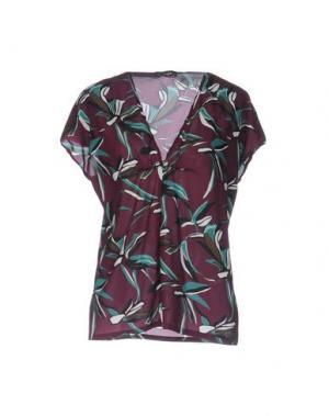 Блузка LAURA URBINATI. Цвет: баклажанный