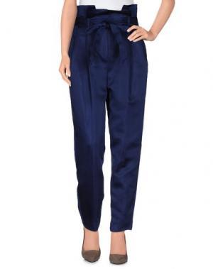 Повседневные брюки NINEMINUTES. Цвет: синий