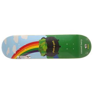Дека для скейтборда  S6 R7 Berry Pot-o-pot 31.7 x 8.25 (21 см) Enjoi. Цвет: мультиколор