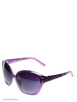 Стные очки Mario Rossi. Цвет: фиолетовый