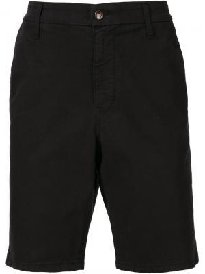 Шорты-чинос до колена Joes Jeans Joe's. Цвет: чёрный