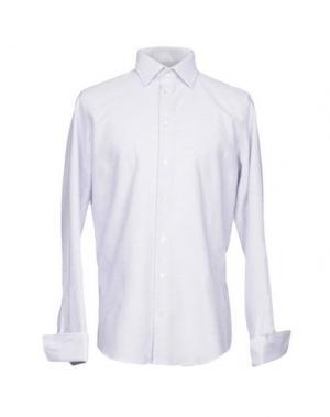 Pубашка RICHARD JAMES. Цвет: сиреневый