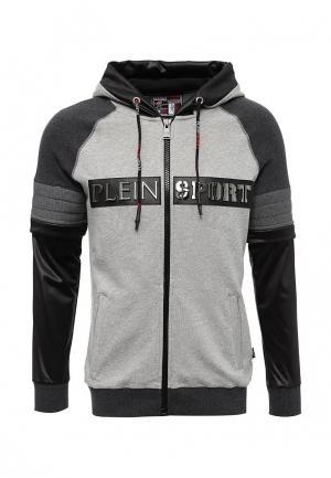 Толстовка Plein Sport. Цвет: серый