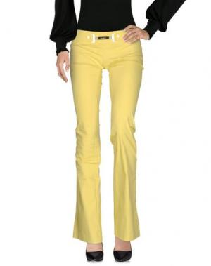 Повседневные брюки CELYN B.. Цвет: желтый