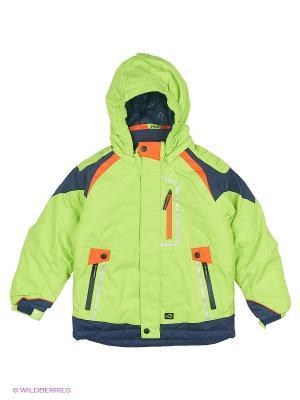 Куртка Jupa. Цвет: салатовый
