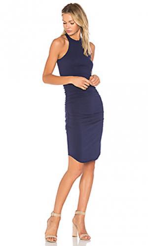 Платье kravitz LA Made. Цвет: синий