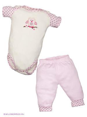 Комплект Baby Days. Цвет: розовый