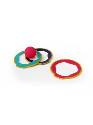 Набор для игр Quut Ringo. Цвет: зеленый, желтый, фиолетовый, розовый
