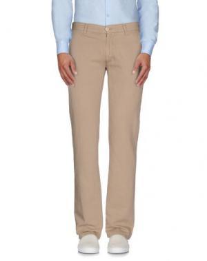 Повседневные брюки LAGERFELD. Цвет: бежевый