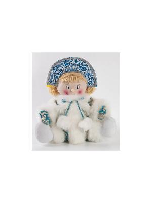 Кукла Снегурочка 32 см, голуб. Новогодняя сказка. Цвет: голубой